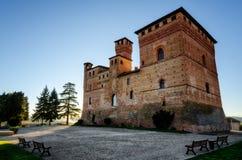 Castello di Grinzane Cavour, in Piemonte Italia Fotografia Stock Libera da Diritti