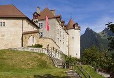 Castello di Gruyeres immagine stock