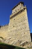 Castello di Guaita nel San Marino Fotografie Stock