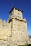 Castello di Guaita nel San Marino Immagini Stock Libere da Diritti