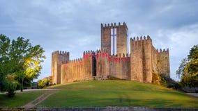 Castello di Guimaraes fotografie stock