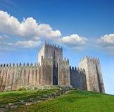 Castello di Guimaraes Fotografia Stock