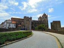 Castello di Guimaraes Fotografie Stock Libere da Diritti