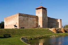 Castello di Gyula immagini stock libere da diritti