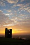 Castello di Hadleigh Immagini Stock