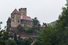Castello di Hardegg Immagine Stock