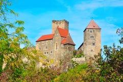 Castello di Hardegg, Austria Fotografia Stock
