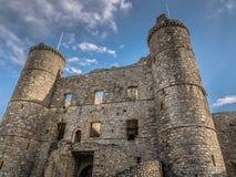 Castello di Harlech Immagini Stock