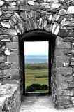 Castello di Harlech, Galles Immagini Stock