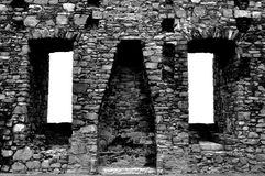 Castello di Harlech, Galles Fotografia Stock