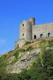 Castello di Harlech, Harlech, Gwynedd, Galles Fotografia Stock Libera da Diritti