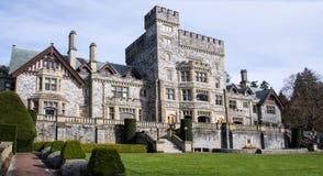 Castello di Hatley, Colwood, Columbia Britannica Immagine Stock
