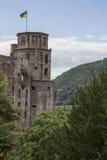 Castello di Heidelberg Immagini Stock
