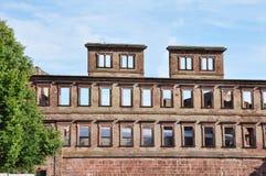 Castello di Heidelberg della Germania Fotografie Stock