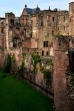Castello di Heidelberg, Germania Fotografia Stock Libera da Diritti