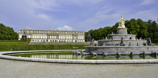 Castello di Herrenchiemsee Immagine Stock Libera da Diritti