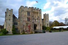 Castello di Hever Fotografie Stock Libere da Diritti
