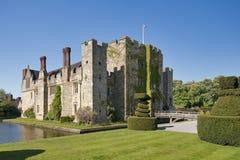Castello di Hever un bello giorno Fotografie Stock Libere da Diritti