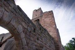 Castello di Hilpoltstein Fotografie Stock Libere da Diritti