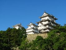 Castello di Himeji immagini stock libere da diritti