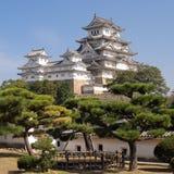 Castello di Himeji fotografie stock libere da diritti