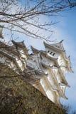 Castello 4 di Himeji Immagini Stock