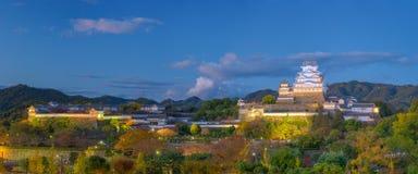 Castello di Himeji Giappone fotografie stock libere da diritti