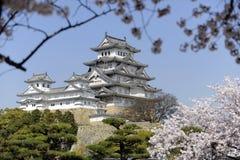 Castello di Himeji, Giappone Fotografie Stock Libere da Diritti