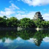 Castello di Hiroshima Immagini Stock Libere da Diritti