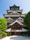 Castello di Hiroshima nel Giappone Fotografie Stock Libere da Diritti