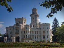 Castello di Hluboka Fotografie Stock