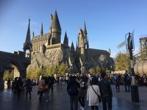 Castello di Hogwarts Immagine Stock