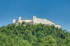 Castello di Hohensalzburg (Festung Hohensalzburg) a Salisburgo, Austri Fotografia Stock Libera da Diritti