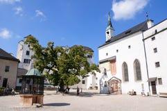 Castello di Hohensalzburg - Salisburgo, Austria Immagini Stock