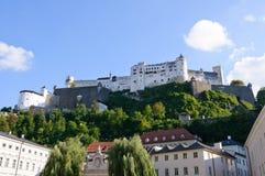 Castello di Hohensalzburg - Salisburgo, Austria Immagine Stock