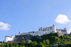 Castello di Hohensalzburg - Salisburgo, Austria Fotografia Stock Libera da Diritti