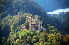 Castello di Hohenschwangau immagini stock