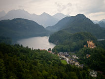 Castello di Hohenschwangau Immagine Stock
