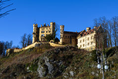Castello di Hohenschwangau Fotografie Stock Libere da Diritti