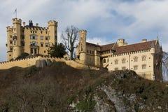 Castello di Hohenschwangau in Baviera Fotografie Stock Libere da Diritti