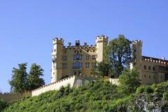 Castello di Hohenschwangau in Fussen, Baviera Fotografia Stock Libera da Diritti