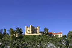 Castello di Hohenschwangau in Fussen, Baviera Immagine Stock