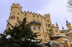 Castello di Hohenschwangau in Germania Immagini Stock Libere da Diritti