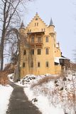 Castello di Hohenschwangau. La Germania Fotografia Stock