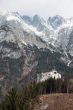Castello di Hohenwerfen in Austria Fotografia Stock