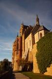 Castello di Hohenzollern in Svevo durante l'autunno Immagini Stock Libere da Diritti