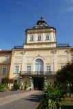 Castello di Horovice - vista frontale Fotografia Stock Libera da Diritti
