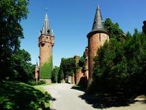 Castello di Hradec nad Moravici Immagine Stock Libera da Diritti