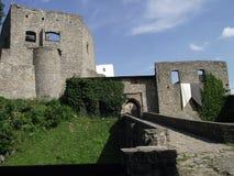 Castello di Hukvaldy fotografia stock libera da diritti