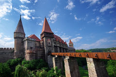Castello di Hunedoara Immagini Stock Libere da Diritti